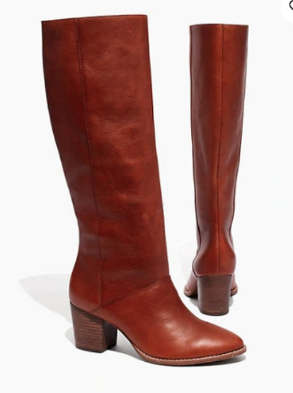 The Kiki Knee-High Boot with Extended Calf