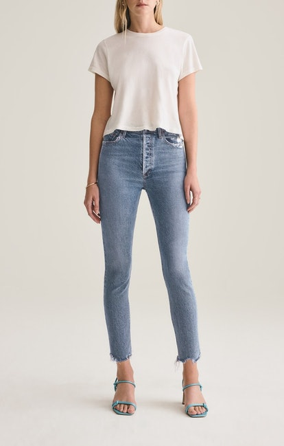 Nico High Rise Slim Fit In Rooted