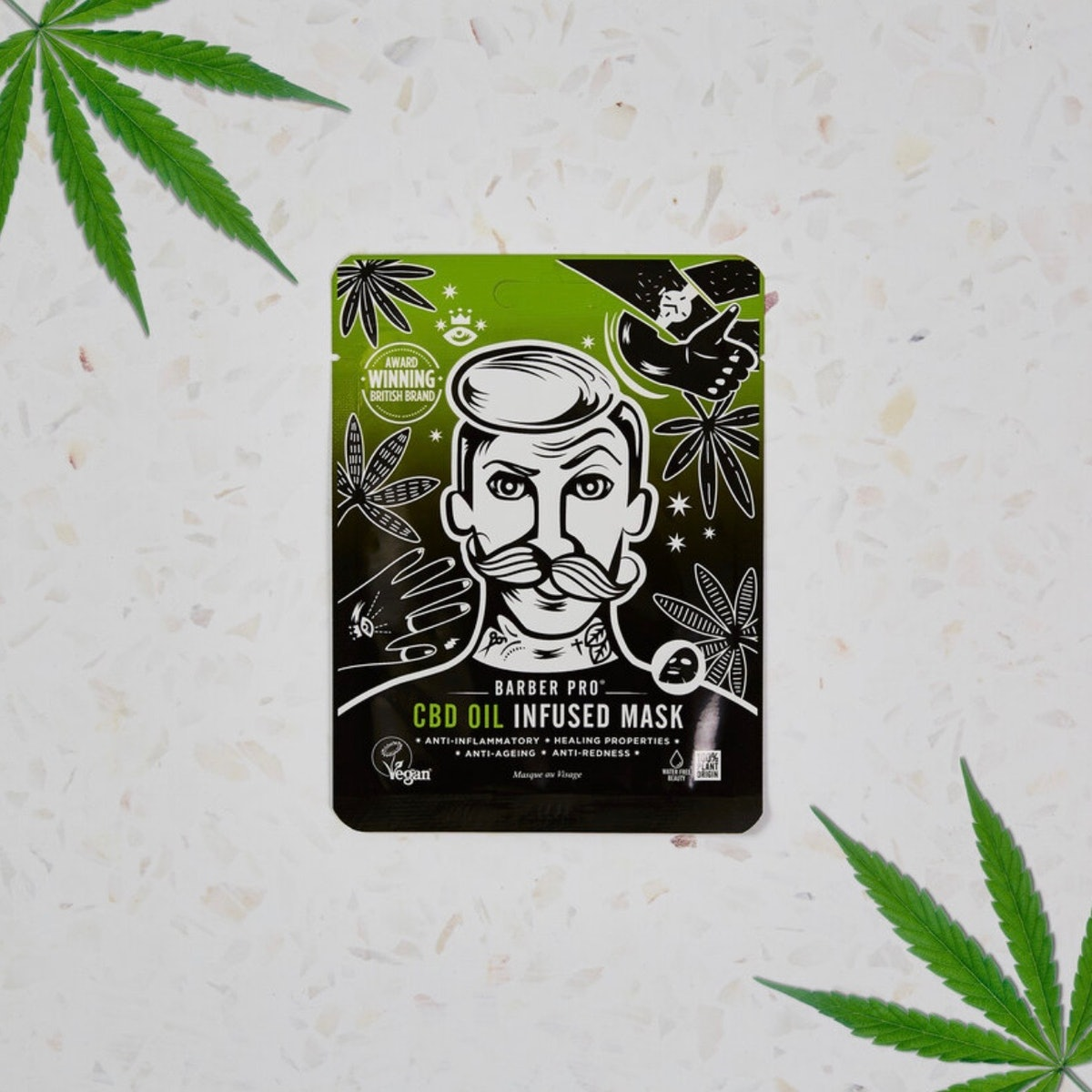 CBD Oil Infused Face Mask