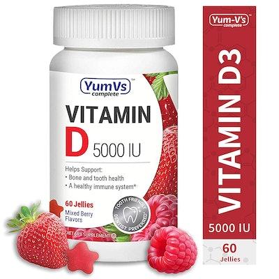 YumVs Complete Vitamin D3 Jellies