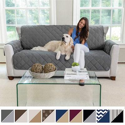 MIGHTY MONKEY Premium Reversible Sofa Protector