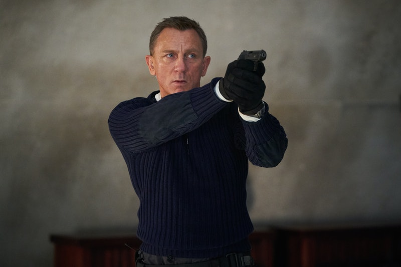 daniel craig as James Bond 'No Time To Die'