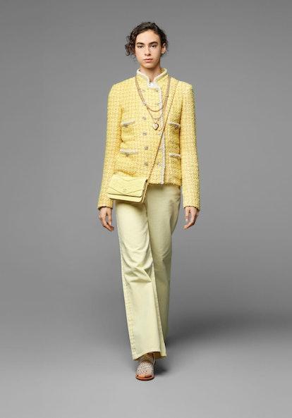 Tweed, Yellow & Gold