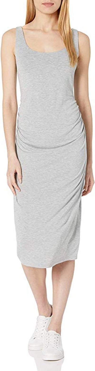 Daily Ritual Maternity Shelf Bra Dress