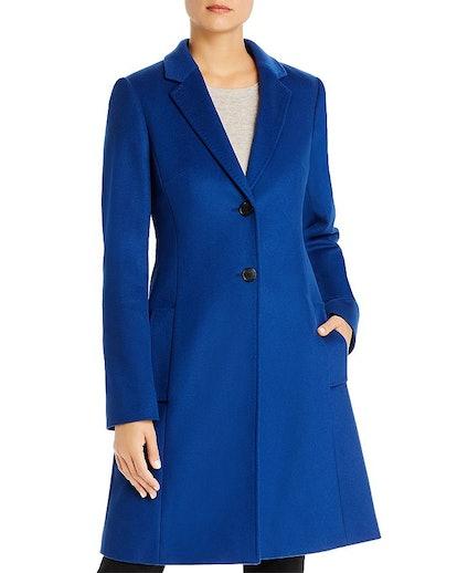 Cavinela Virgin Wool & Cashmere Coat