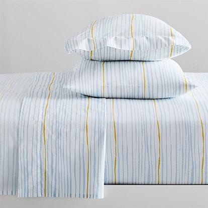 Organic Multi Stripe Sheet Set