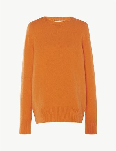 Sibel Sweater In Mandarine