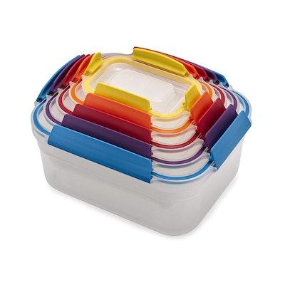 Joseph Joseph Nest Lock Plastic Food Storage Container Set (10-Pack)