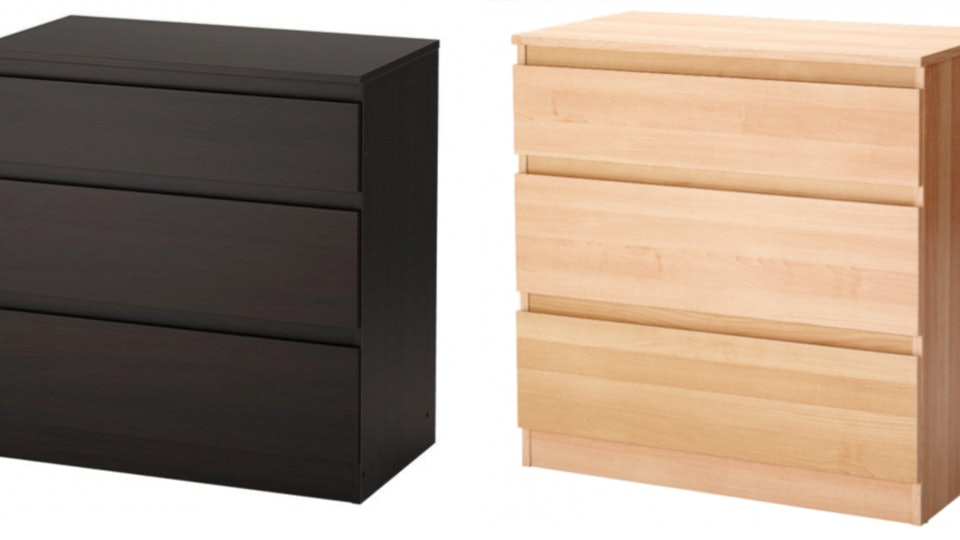 The CPSC announced a recall of about 820,000 IKEA Kullen dressers on Wednesday, due to fears of the dresser tipping over.