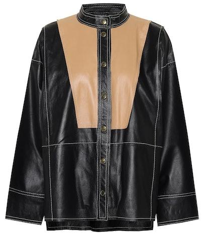Laura Leather Shirt