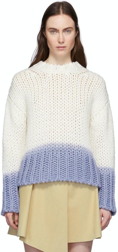 Off-White Dip-Dye Kierene Sweater