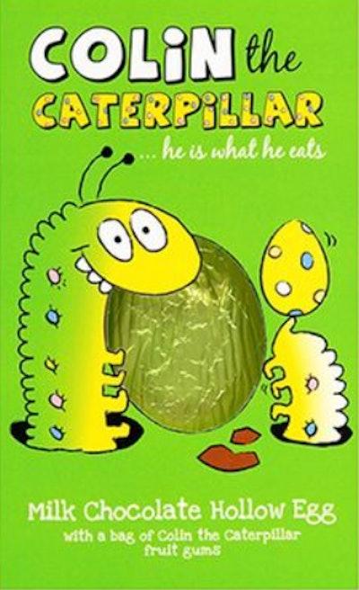 Colin The Caterpillar Milk Chocolate Egg
