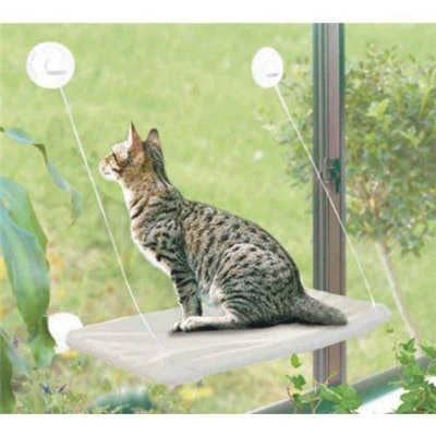 PETPAWJOY Window Cat Bed