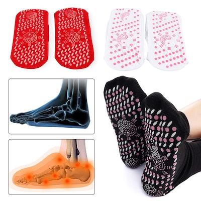 Porpor Booya 3 Pair Self Heating Socks