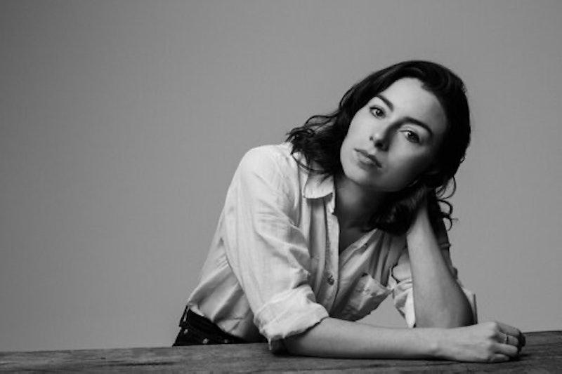 Jordan Kisner in black and white