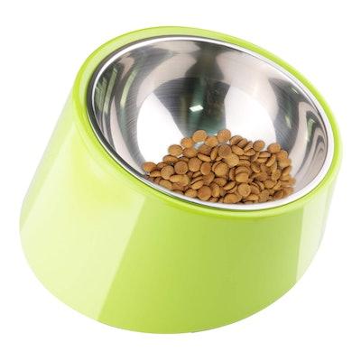 Super Design 15-Degree Slanted Bowl for Dogs