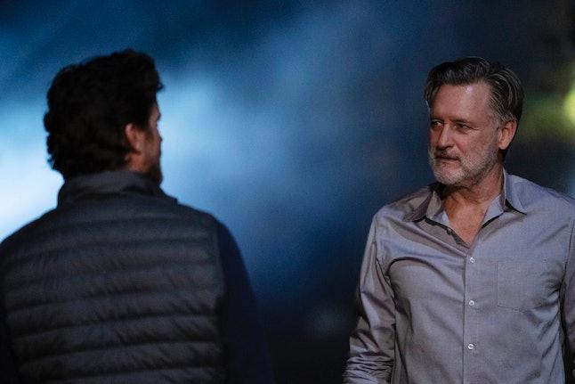 Matt Bomer as Jamie Burns and Bill Pullman as Detective Lt. Harry Ambrose in The Sinner
