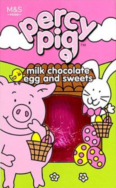 Percy Pig Milk Chocolate Egg