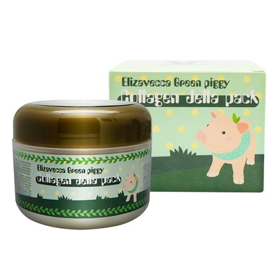 Elizavecca Green Piggy Collagen Jella Intense Hydration Mask