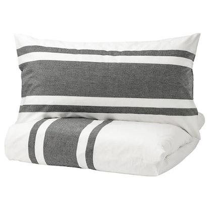 BJÖRNLOKA Duvet Cover and Pillowcases