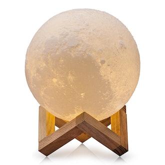 CPLA Lighting Night Light LED 3D Printing Moon Lamp