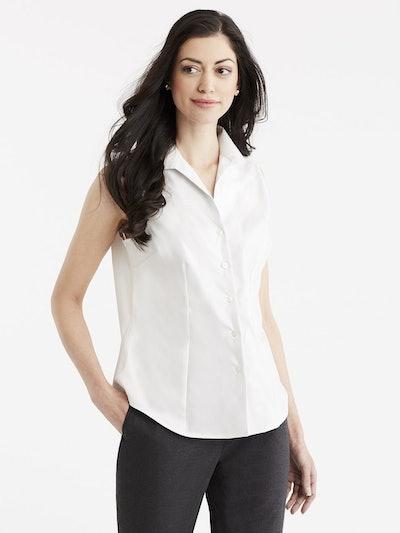 Non-Iron Sleeveless Shirt