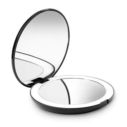 Fancii LED Lighted Travel Makeup Mirror