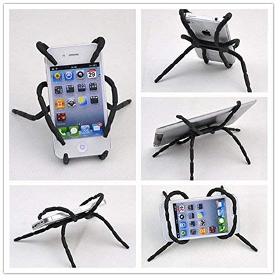 Rienar Spider Flexible Grip Holder for Smartphones and Tablets