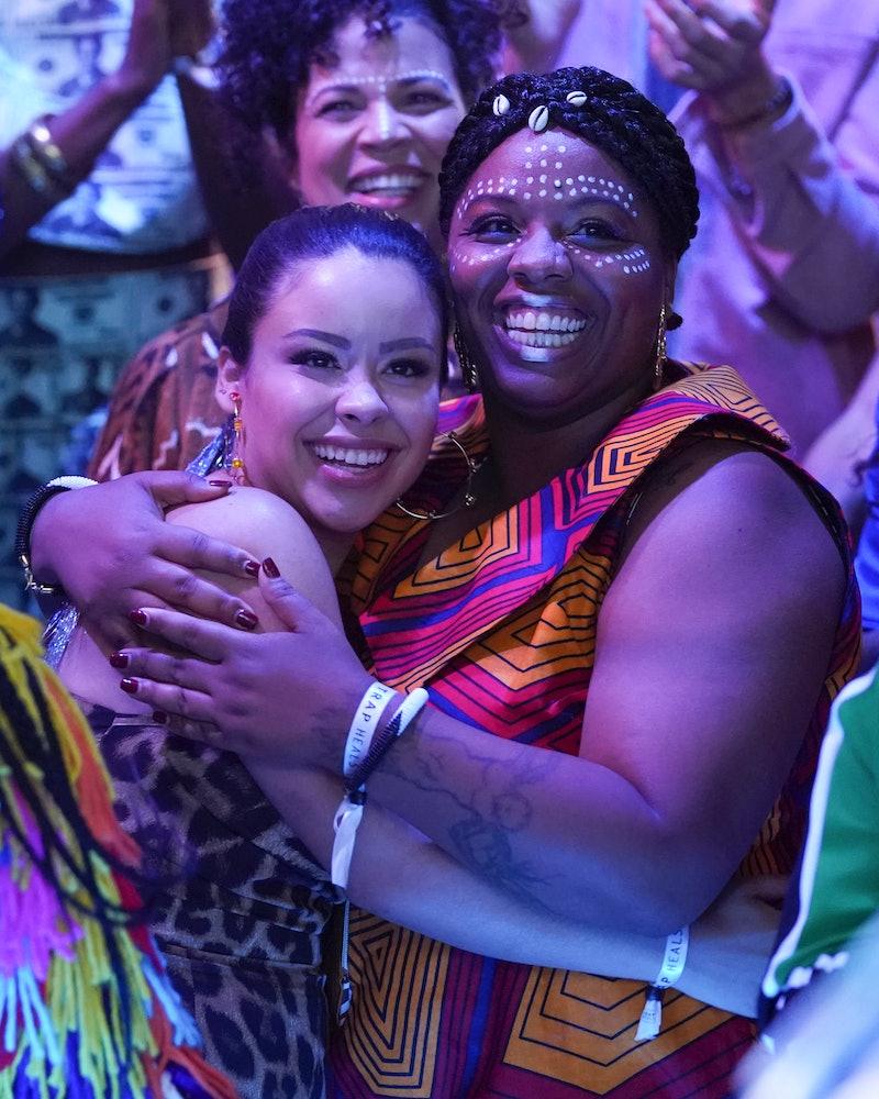 Black Lives Matter co-founder Patrisse Cullors appeared alongside Cierra Ramirez in Good Trouble's Trap Heals episode.
