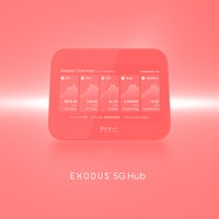 HTC's Exodus 5G is an ultra-secure smart router that can also help you manage your Bitcoin