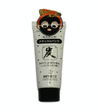 Daiso Japan Natural Pack Charcoal Peel Off Mask