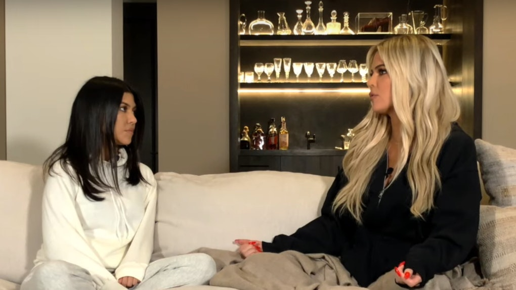 Khloé Kardashian Made Quotes About Feeling Judged By Kourtney While Breastfeeding