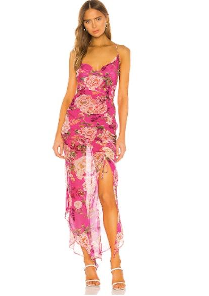 Fredia Silk Dress