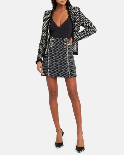Martina Tweed Mini Skirt