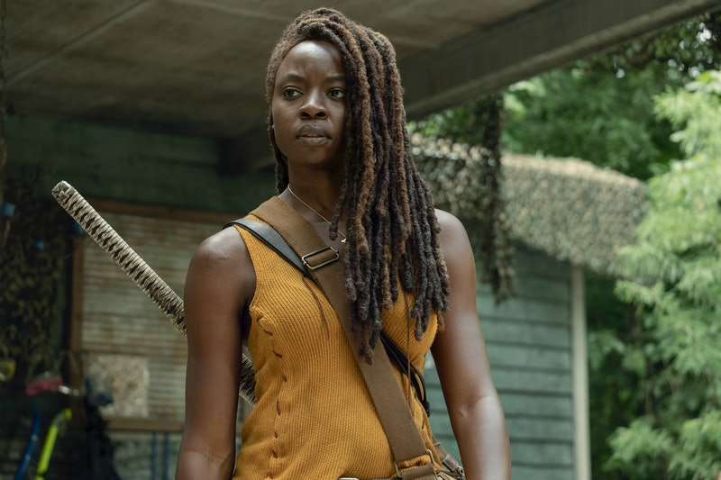 Michonne deserves a proper sendoff on The Walking Dead.