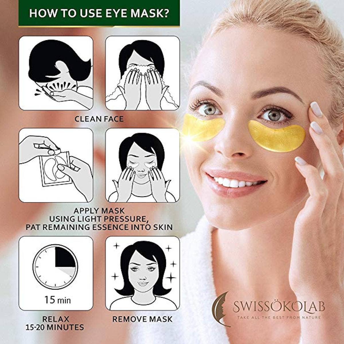 Under Eye Mask Gold Eye Mask