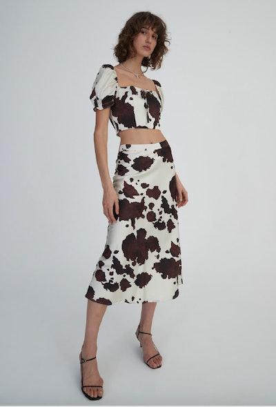 Emmy Skirt In Bovine