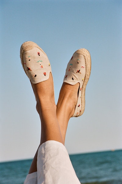 Swimmers Embroidered Espadrille