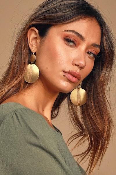 Bohemian Dreams Gold Earrings