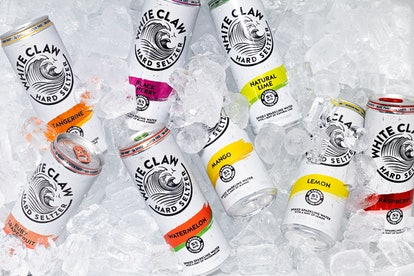 White Claw launched 3 new flavors: watermelon, lemon, and tangerine