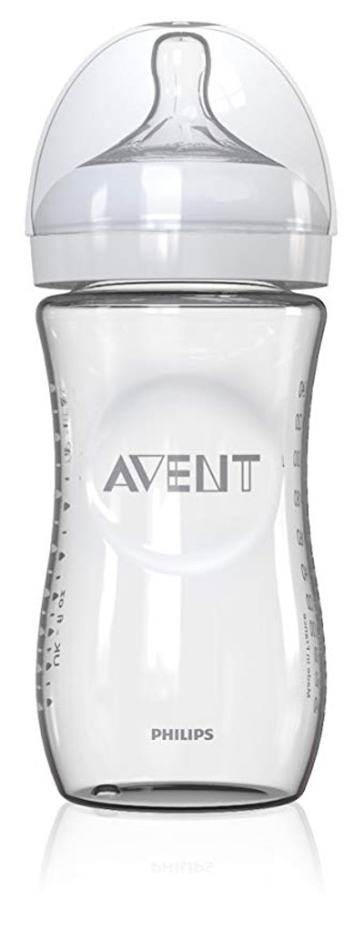 Philips Avent Natural Glass Baby Bottle, 8 Ounce