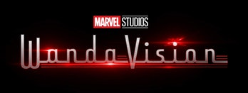 Disney+ Marvel Studios Wandavision logo