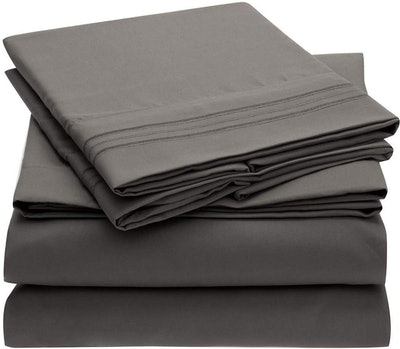 Mellanni 4-Piece Bed Sheet Set