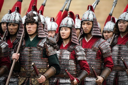 Yifei Liu as Mulan