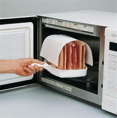 Makin Bacon Microwave Bacon Tray