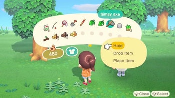 animal crossing item leaf icon