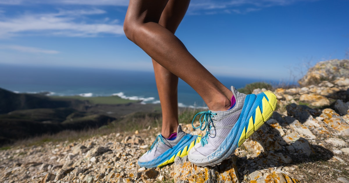 Hoka's new trail sneaker has a tumor for a heel — and it looks great