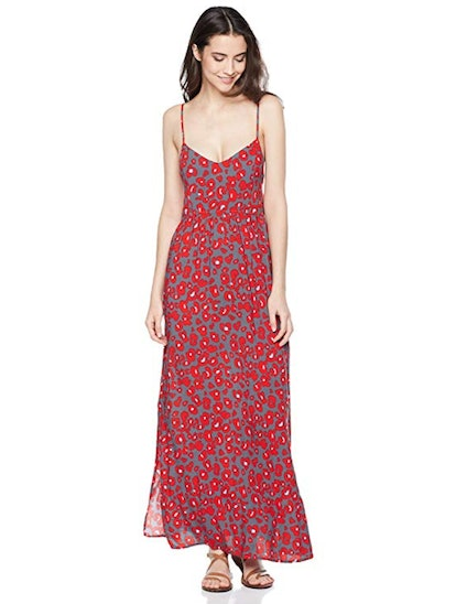Beautiful Nomad Casual Open Back Strappy Maxi Dress