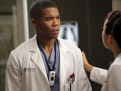 Shane left 'Grey's Anatomy' to study with Cristina