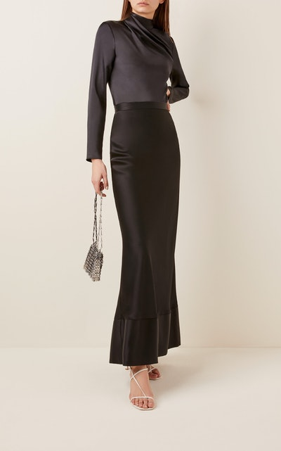 Isla Silk Slip Skirt
